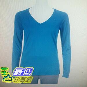 [COSCO代購 如果沒搶到鄭重道歉] Nike 女V領長袖運動上衣 (多種顏色尺寸選擇) _W1103327