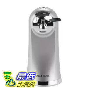 [美國直購] 電子開罐器West Bend 77203 Electric Can Opener, Metallic