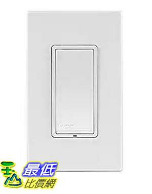 [美國直購] Leviton DZS15-1BZ Decora Z-Wave Controls 15-Amp Scene Capable Switch, White/Ivory/Light Almon..