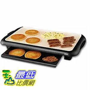 [美國直購] Oster CKSTGRFM18W-ECO 燒烤器加熱板 DuraCeramic Griddle with Warming Tray, Black/Cr?me