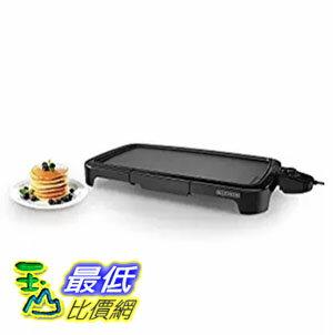 [美國直購] BLACK+DECKER GD2011B 燒烤器加熱板 Family Size Griddle, Black