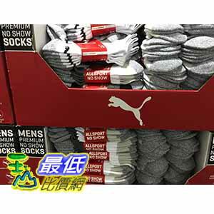 [105限時限量促銷] COSCO PUMA MENS NO SHOW SOCKS 男運動短襪6入 適合鞋子尺寸:US 6-12.5 _C979484