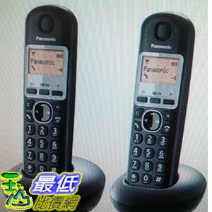 [COSCO代購 如果沒搶到鄭重道歉] PANASONIC 數位 無線 雙子機 W106586