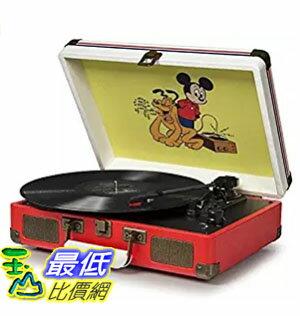 <br/><br/>  [美國直購] Crosley CR8005A-DS 迪士尼 可攜式音響 音箱 Cruiser Portable 3-Speed Turntable, Disney<br/><br/>