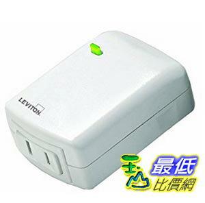 [美國直購] Leviton DZPD3-1BW Decora Z-Wave Controls 300-Watt LED/CFL Compatible Plug-In Dimming Lamp Module, White, Works with Amazon Alexa