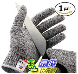 [美國直購] NoCry 露營 DIY 下廚防切手套 Cut Resistant Gloves - High Performance Level 5 Protection