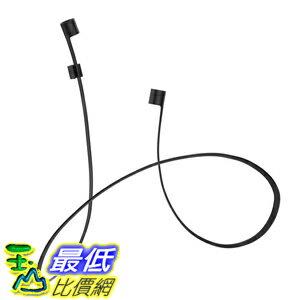 [美國直購] Spigen 000EM20957 黑色 耳機專用連接cable線(不含耳機) AirPods Strap for iPhone 7 / iPhone 7 Plus