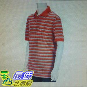 [COSCO代購 如果沒搶到鄭重道歉]  Nautica 男短袖條紋Polo衫 橘 _W112334