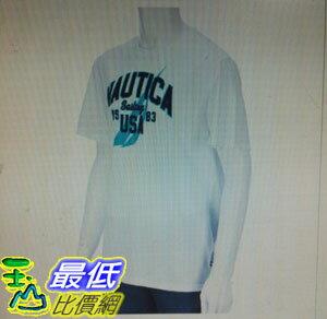 [COSCO代購 如果沒搶到鄭重道歉]  Nautica 男短袖純棉T恤 白 _W112333