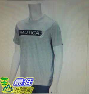 [COSCO代購 如果沒搶到鄭重道歉]  Nautica 男短袖純棉T恤 灰 _W112333