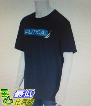 [COSCO代購 如果沒搶到鄭重道歉]  Nautica 男短袖純棉T恤 深藍 _W112333