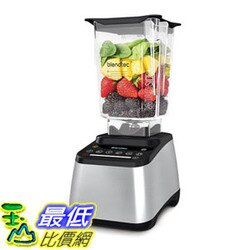 [106美國直購] 攪拌機 Blendtec D1E28DC16HA-A1GP1D Designer 725 Blender with Wild Side Jar Stainless Black