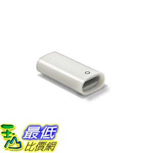 [106美國直購] 適配器 TechMatte Apple Pencil Lightning Cable Charging Adapter for iPad Pro Female 75 Inches