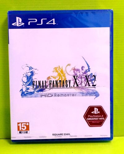 [現金價] PS4 太空戰士 Final Fantasy X / X-2 HD Remaster 中文版 亞版 全新品