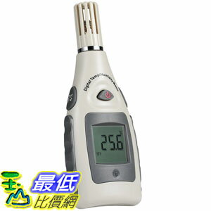 [106美國直購] 溫度計 Digital Humidity and Temperature Meter Portable Thermometer Hygrometer monitor Hand-held LCD