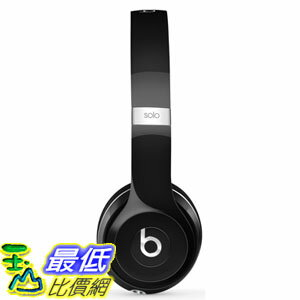 [106美國直購] 耳機 Beats Solo2 Wired On-Ear Headphone Luxe Edition Black