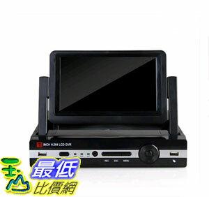 [106玉山最低網] 龍視安 loosafe 8路硬碟錄影機 7寸帶屏監控一體機 h.264高清DVR手機遠程