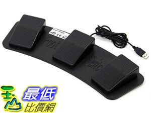 [106東京直購] Route-r RouteR RI-FP3BK 踏板 USB 3-piece foot pedal switch
