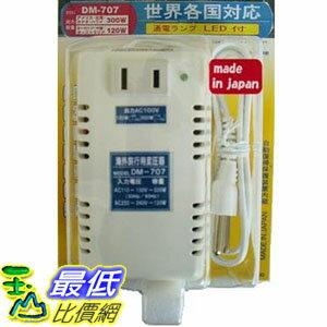 [106東京直購] 日章工業 降壓器 (型號DM-707) 50/60Hz 110~240V 降至100V (110V:300W;220V:120W) 日本制