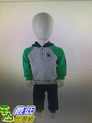 [COSCO代購 如果沒搶到鄭重道歉] Little Me 兒童兩件式長袖長褲套組 綠色麋鹿/深藍小狗 W990299