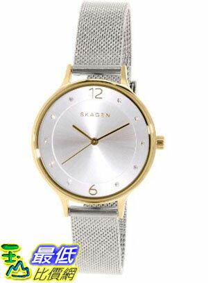 [105美國直購] Skagen Women's 女士手錶 SKW2340 Silver Stainless-Steel Quartz Watch