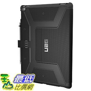 [美國直購] URBAN ARMOR GEAR 黑色 Folio 12.9吋 iPad Pro 立架式 平板 保護殼 UAG