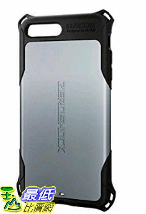 [東京直購] ELECOM PM-A16LZEROSV 銀色 (5.5吋) ZEROSHOCK iPhone7 iPhone 7 Plus 手機殼 保護殼