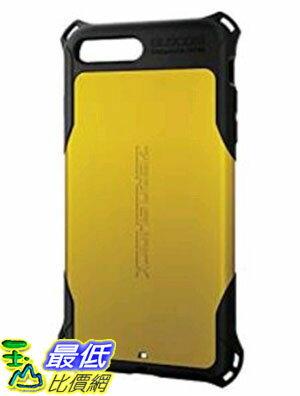 [東京直購] ELECOM PM-A16LZEROYL 黃色 (5.5吋) ZEROSHOCK iPhone7 iPhone 7 Plus 手機殼 保護殼