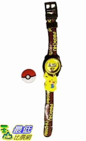 [美國直購] 神奇寶貝 精靈寶可夢 Pokemon 550264544 皮卡丘 手錶 Pikachu Pokeball Boys LCD Watch
