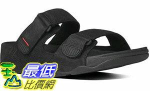 [COSCO代購 如果沒搶到鄭重道歉] FitFlop Gogh 男拖鞋 灰/黑 W1028507