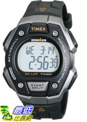 [105美國直購] Timex Ironman Classic 30 Full-Size Watch