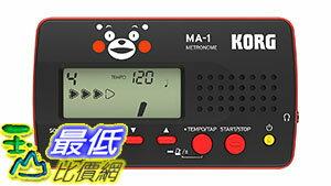 [東京直購] KORG MA-1-BKRD-KM MA-1 節拍器 METRONOME 熊本熊版 黑色紅色 MA1