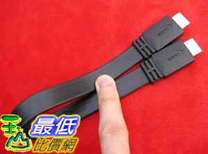 [玉山最低比價網] (HDMI扁平線 1.5M) HDMI 1.4 公頭 對 公頭 扁平線 1.5米( G14)