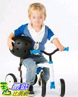[COSCO代購 如果沒搶到鄭重道歉] Chillafish Quadie 四輪滑步車系列 藍/青綠/粉紅 W106393