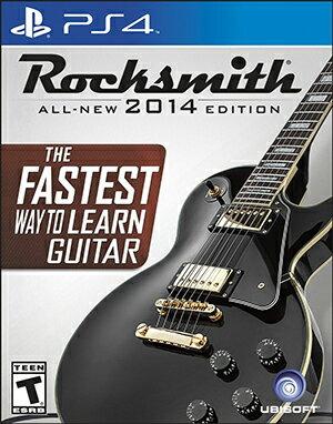 (美國代訂) PS4 ROCKSMITH 2014 搖滾史密斯 英文版 (含傳輸線)