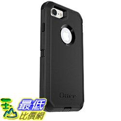 [美國直購] 手機殼 OtterBox DEFENDER SERIES Case for iPhone 7(ONLY)-Frustration Free Packaging-BLACK