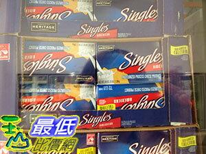 [需低溫宅配 無法超取] COSCO AMERICAN HERITAGE SINGLES 美國乾酪單片包 1.36KG C32724