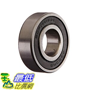 [106美國直購] Two(2)6203-2RS Sealed Bearings 17x40x12 Ball Bearing/Pre-Lubricated
