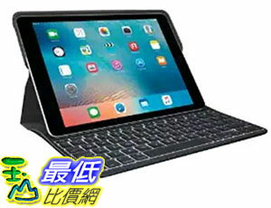 [美國直購] Logitech 920-008131 9.7吋 羅技 鍵盤保護殼 Create Backlit Keyboard Case with Smart Connector for iPad ..