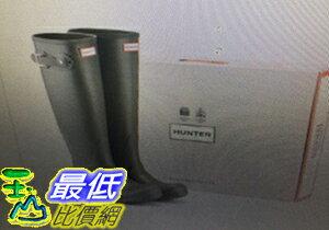[COSCO代購 如果沒搶到鄭重道歉] Hunter 女長筒雨靴 橄欖綠/深藍 _W770142