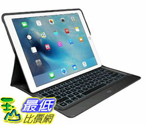 [美國直購] Logitech 920-007824 12.9吋 羅技 鍵盤保護殼 Create Backlit Keyboard Case with Smart Connector for iPad..