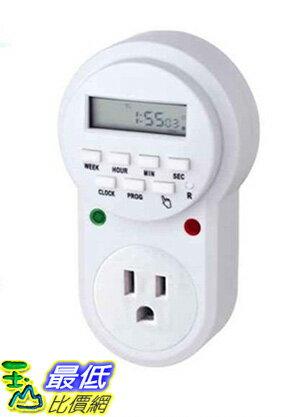 [玉山最低網] 美式計時器15A 110V美標定時器插座 電源計時器開關插頭 i113