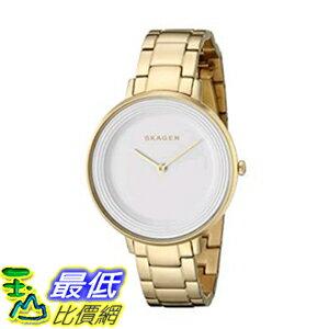 [美國直購] Skagen Women's 女士手錶 SKW2330 Ditte Gold Link Watch