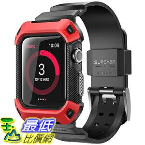 [106美國直購]SUPCASE紅色42mmAppleWatch2Case(含錶帶)手錶保護殼[UnicornBeetlePro]系列_d04