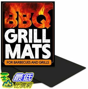 [105美國直購] BBQ Grill Mats (2 Pack)