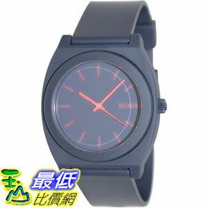 [105美國直購] Nixon Men's 男士手錶 A119692 Blue Polyurethane Quartz Watch