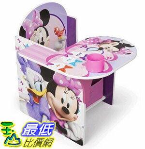 [COSCO代購 如果沒搶到鄭重道歉] 迪士尼桌椅組 - 米妮 (附收納箱) W108170