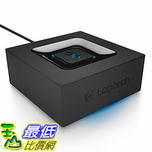 [美國代購] Logitech 980-000910 Bluetooth Audio Adapter 媒體接收器 for Bluetooth Streaming