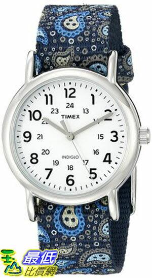 105美國直購  Timex Womens Weekender Paisley Blue