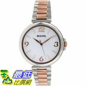 [105美國直購] Bulova Women's 女士手錶 Classic 98L195 Silver Stainless-Steel Quartz Watch
